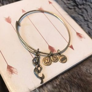 Mermaid Alex and ani gold